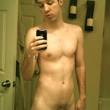 Slim Twink Naked In His Bathroom