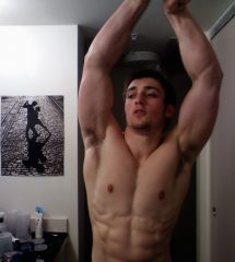 Muscled Guy Proud Showing His Hot Body