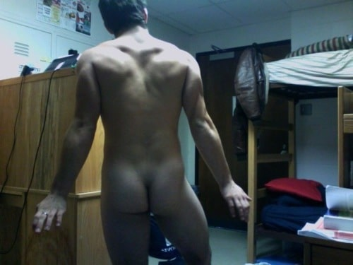 Boy Showing His Ass